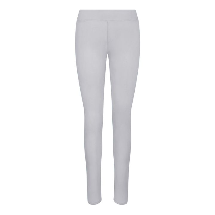 Women's Hair Resistant Leggings - Silver Grey