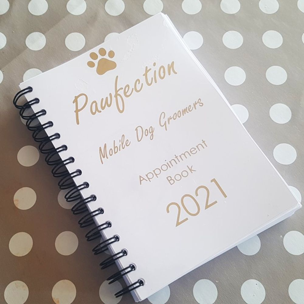 A5 - 2021 Personalised Day Per Page Appointment Planner