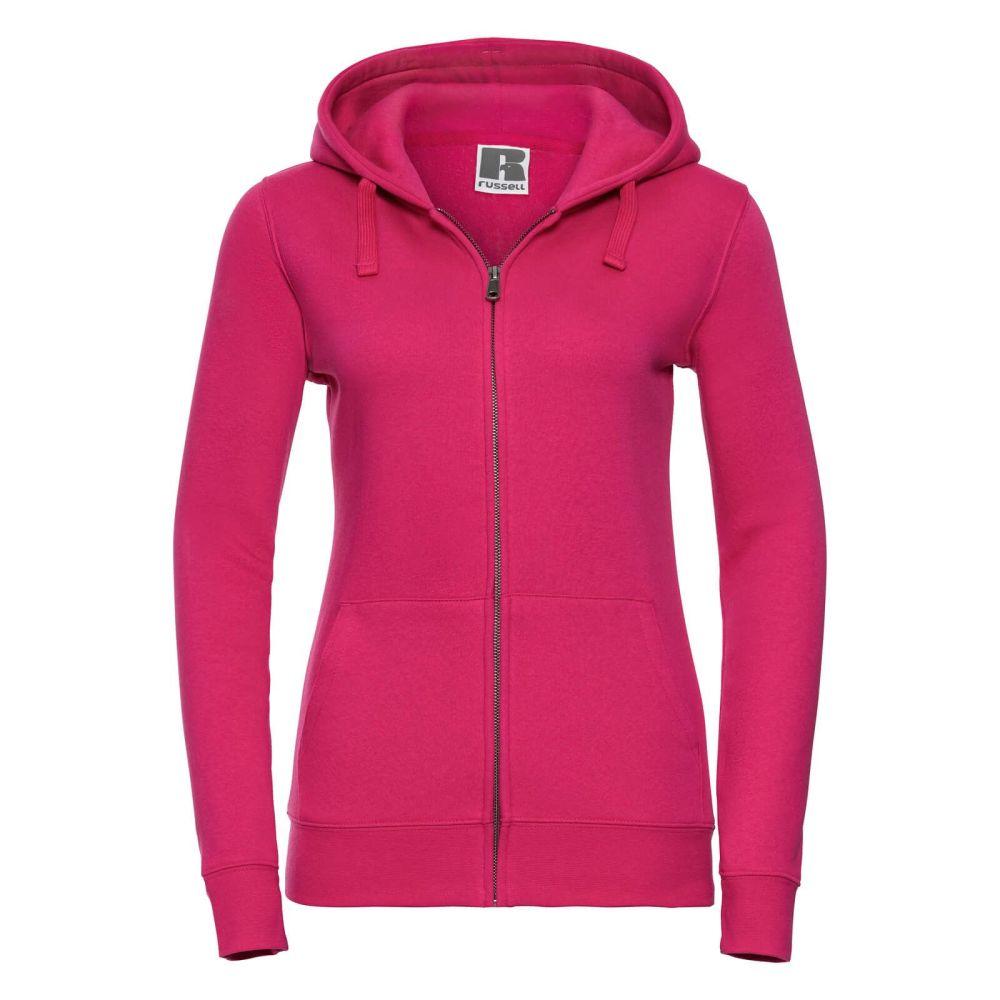 Women's 100% Zipped Hoodie - Pink