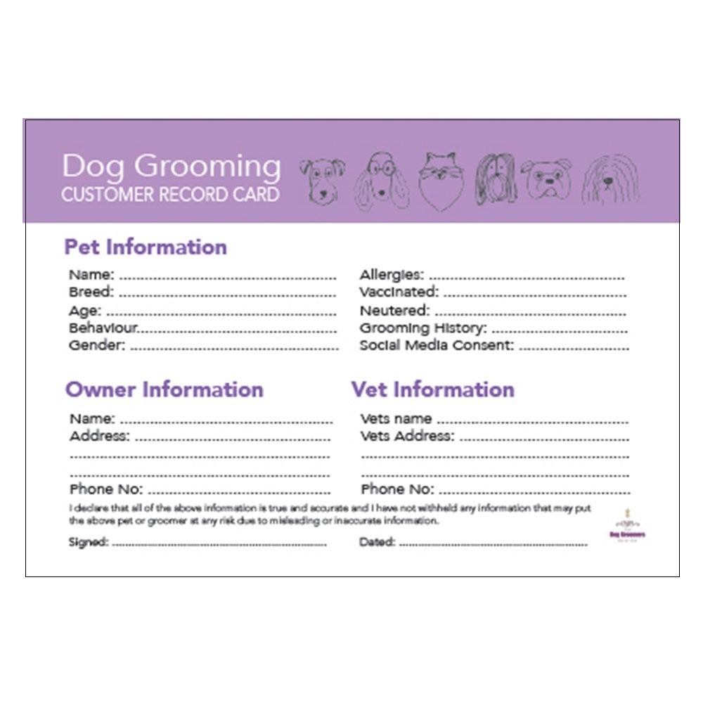 Dog Grooming Stationary