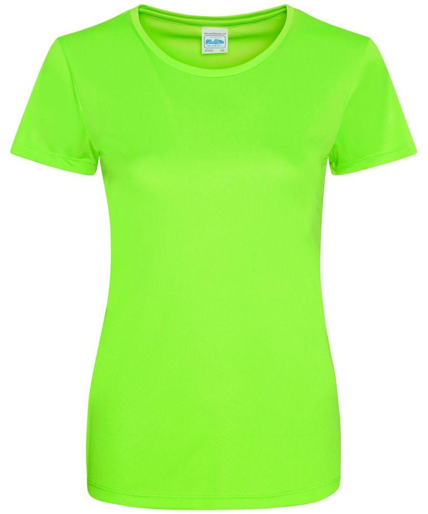 Women's Hair Resistant T-Shirt - Electric Green