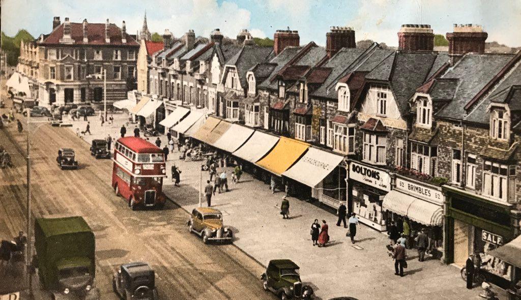 Station Road Circa 1940s