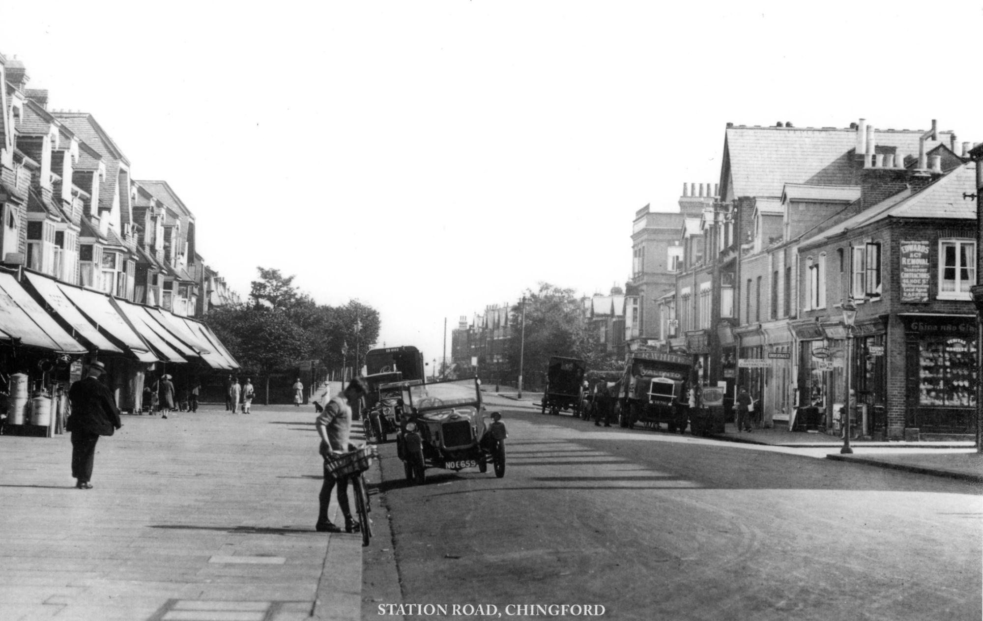 Station  Road Circa 1925