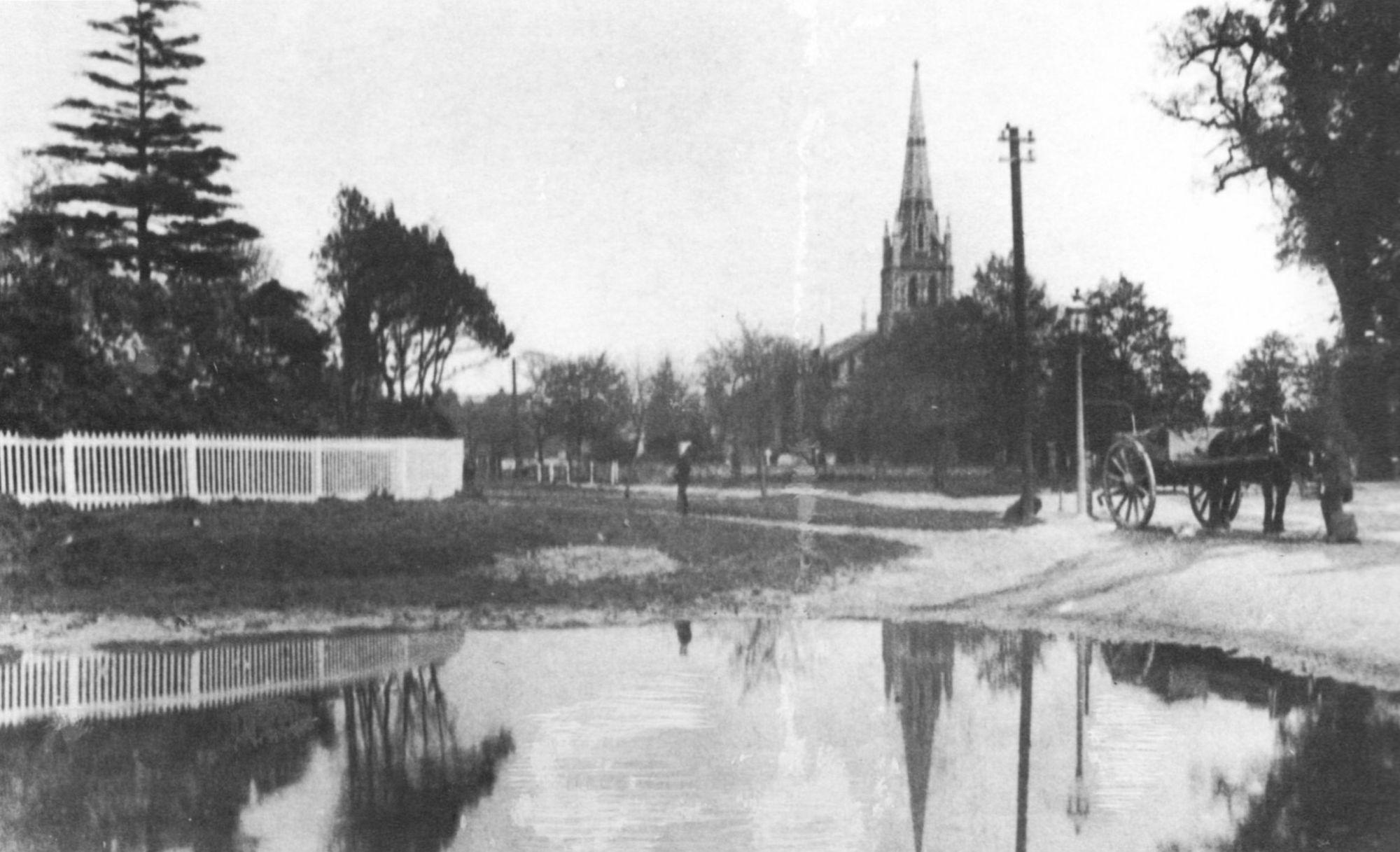 Chingford Green & Pond 1890s