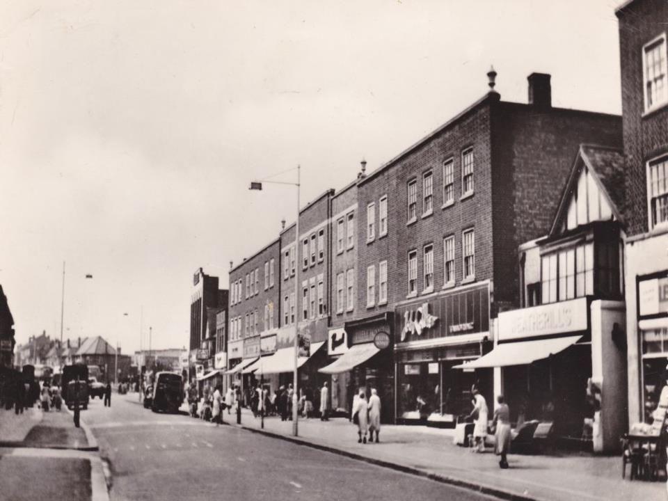 Old Church Rd c.1958