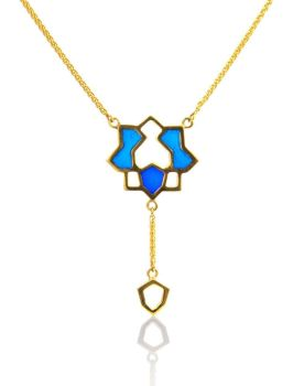 Vermeil Pendant. Gold Plate On silver . Item MH004