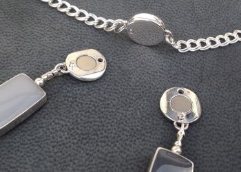 Silver Clasp and Converter.    Item SF001