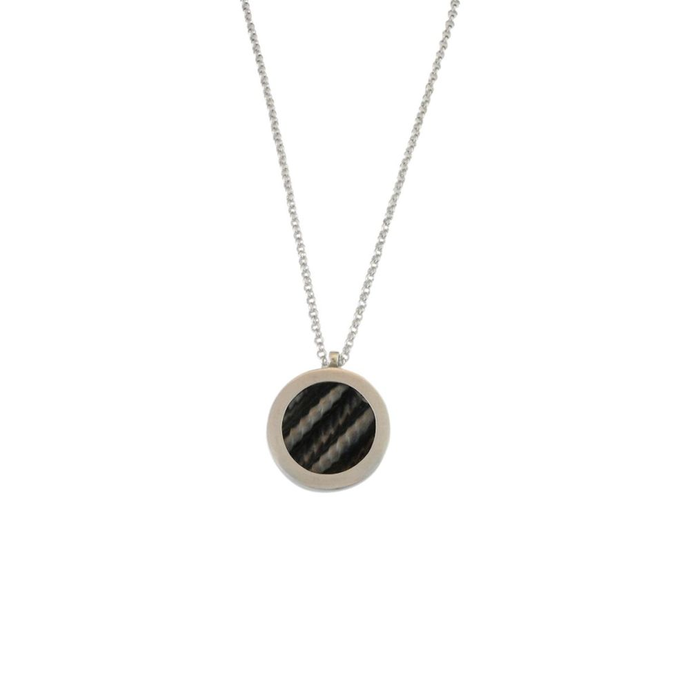 Ruthenium necklace