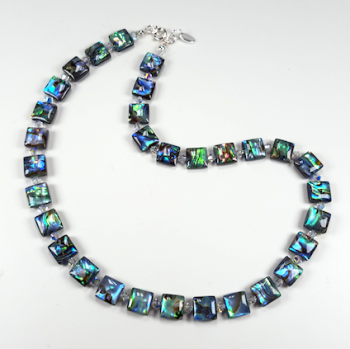 Abalone Shell Necklace. RH031
