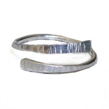 Recycled Sterling Silver Slim Ring.  Item CM004