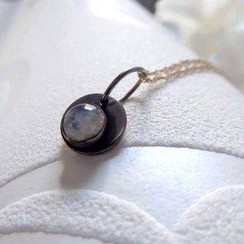 Moonstone Necklace.  Item  CM005