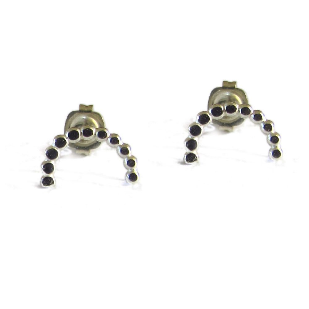 Beautiful 'Little smiles' stud earrings. Item CM010