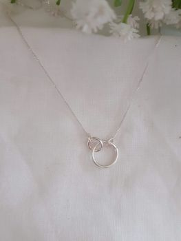 Silver Serendipity Necklace.  Item DS034