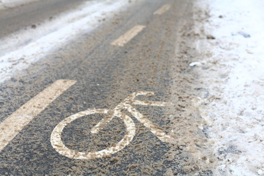 cycle path de-icing