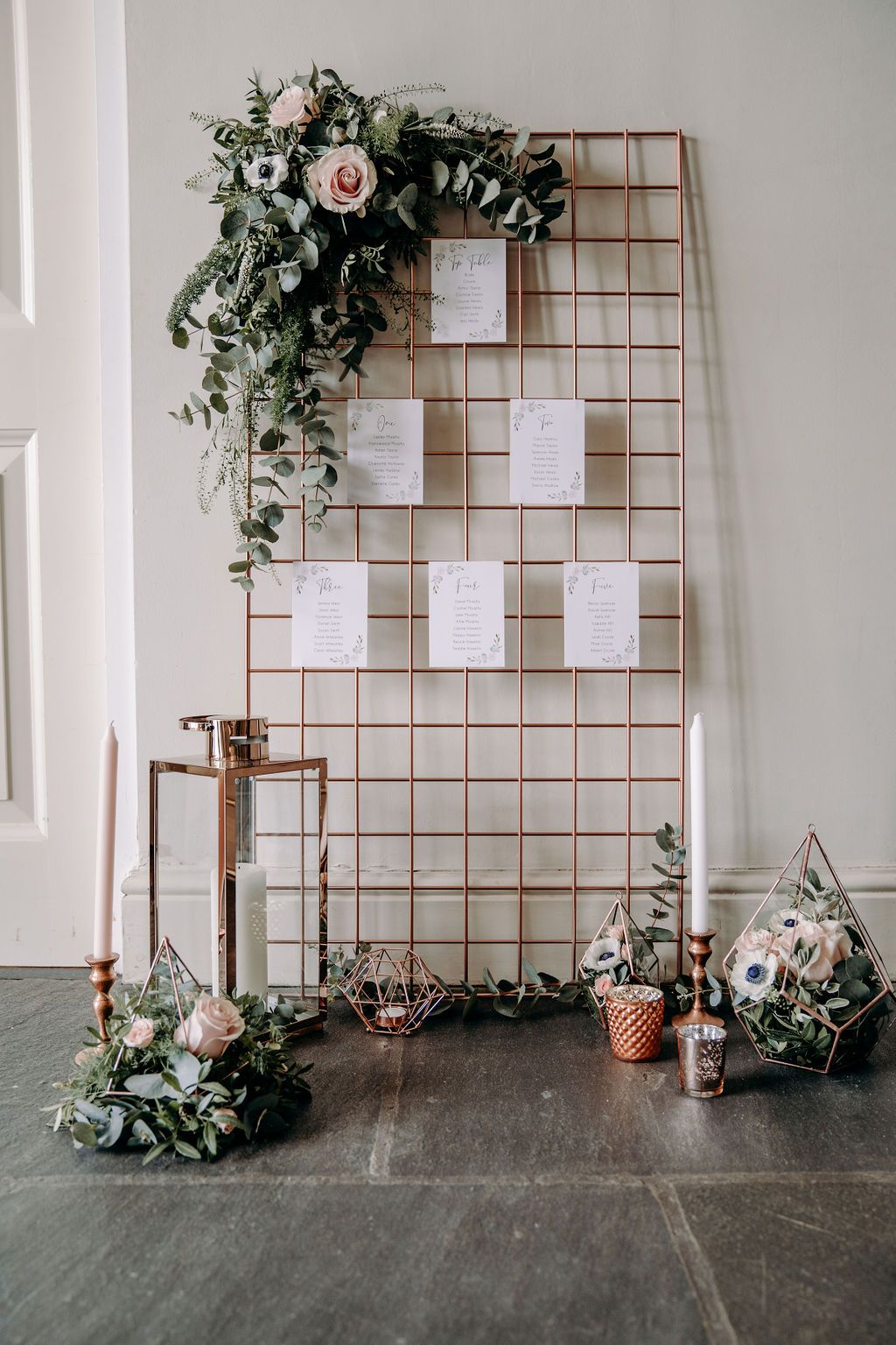 wedding styling table plan