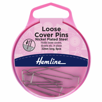 Loose Cover Pins: 32mm: Nickel