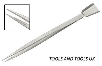 Long Tweezers with shovel