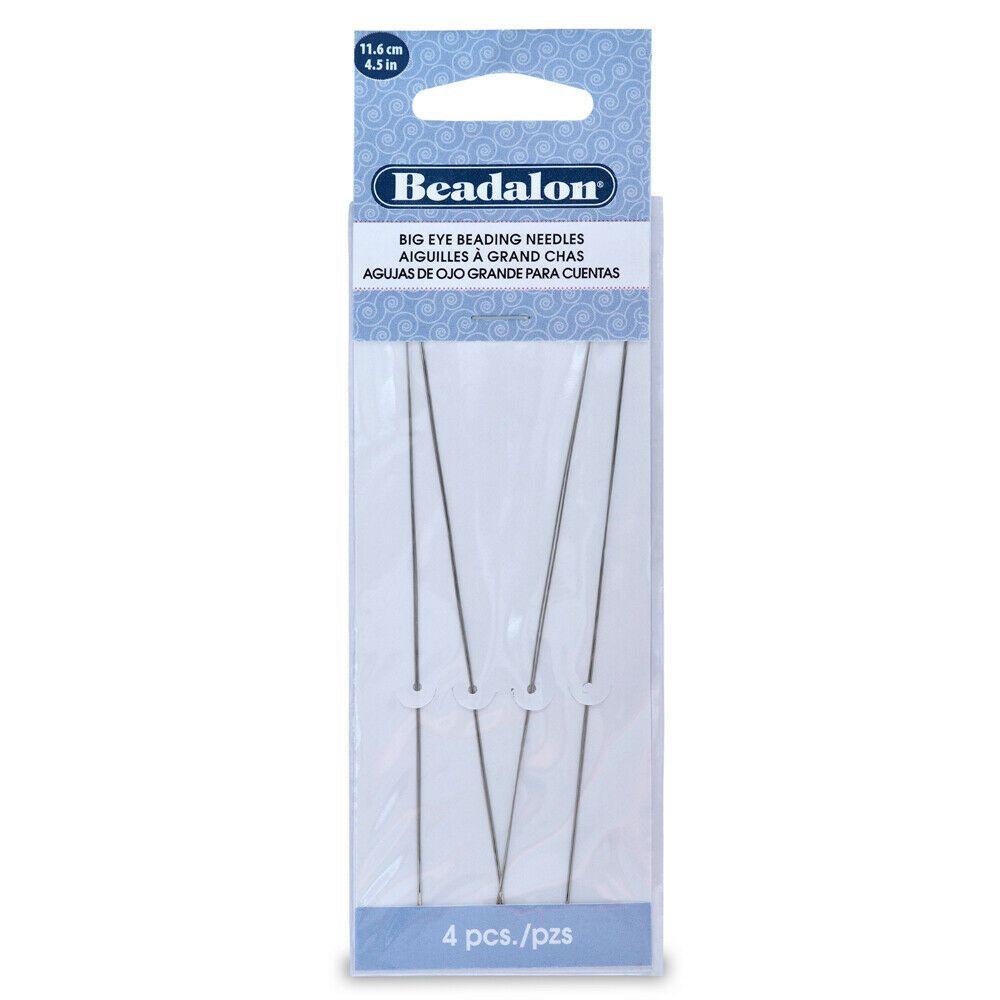 Beadalon Big Eye Needles