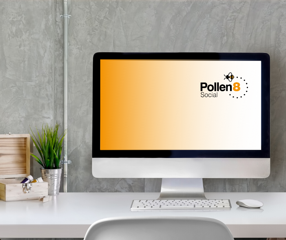 Pollen8 Digital Media Ltd for new website design