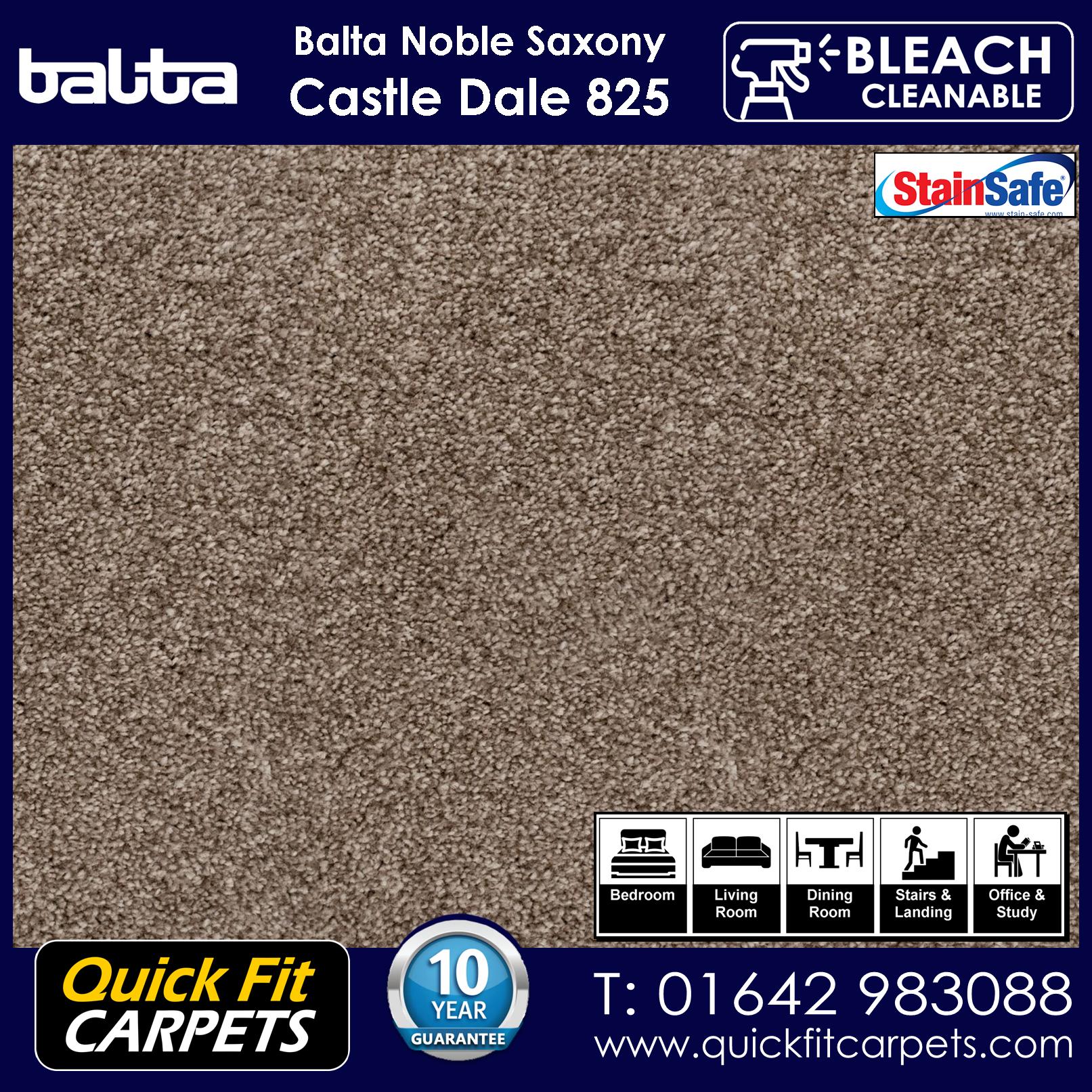 Quick Fit Carpets Balta Luxury Pile Castle Dale 825