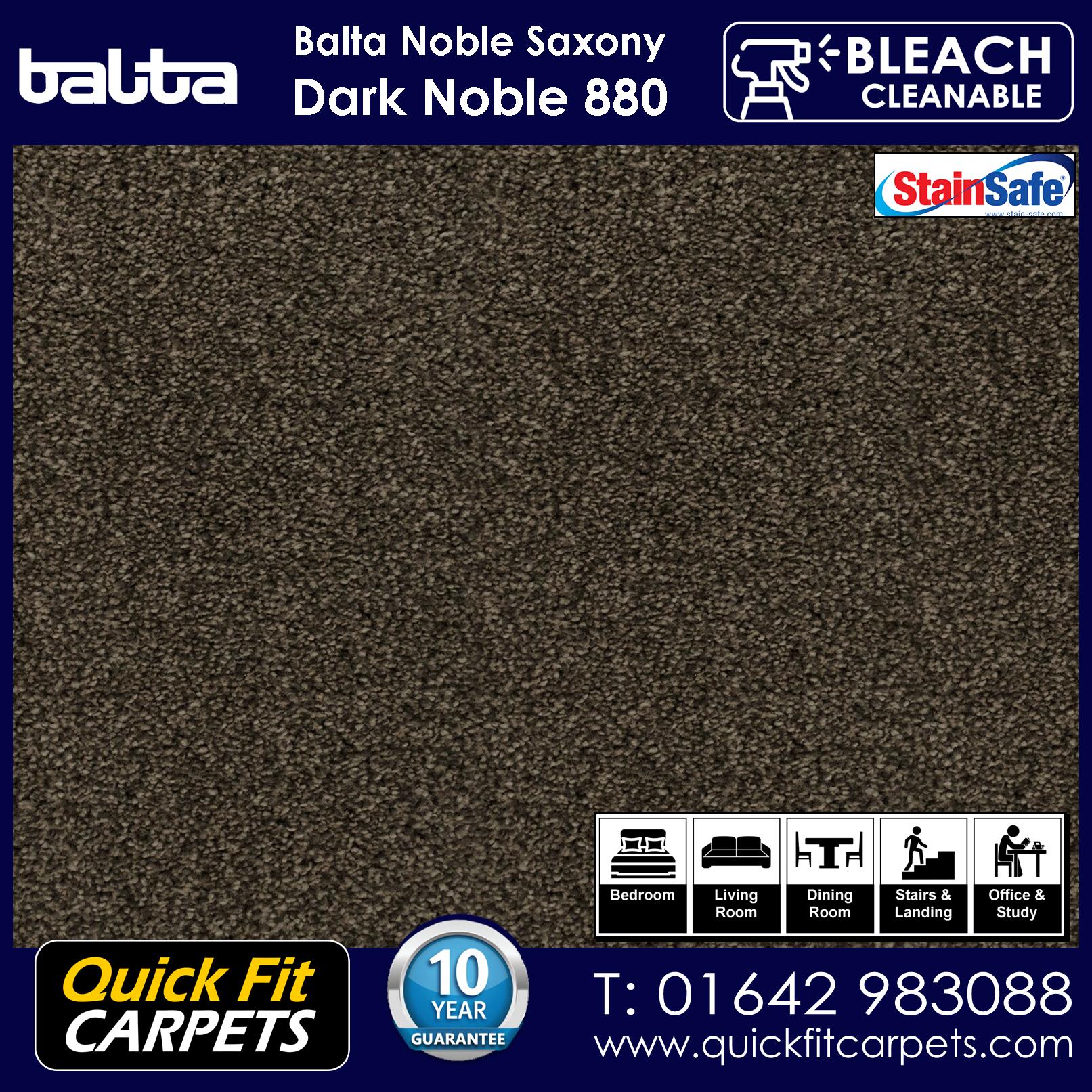 Quick Fit Carpets Balta Luxury Pile Dark Noble Stead 880