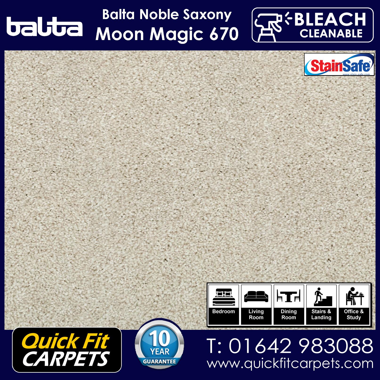 Quick Fit Carpets Balta Luxury Pile Moon Magic 670