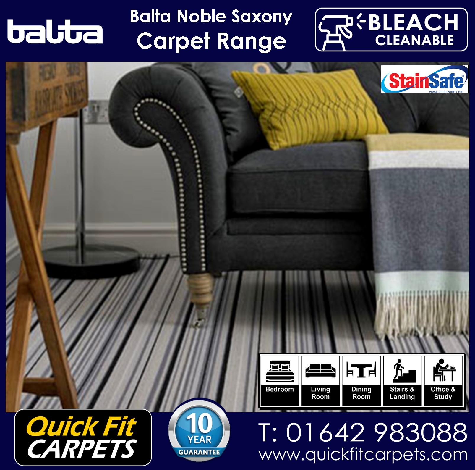 Quick Fit Carpets Balta Luxury Pile Carpet Range