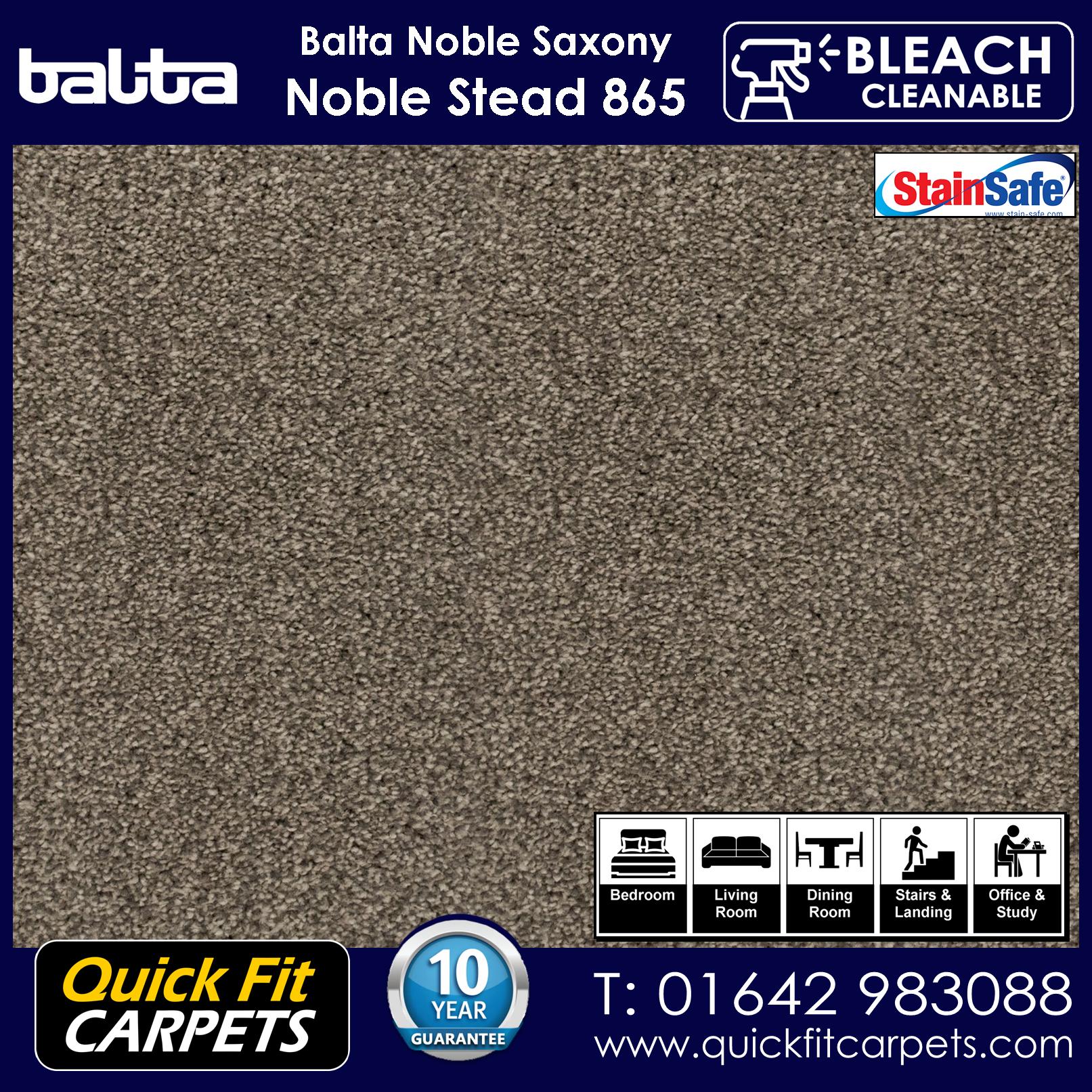 Quick Fit Carpets Balta Luxury Pile Noble Stead 865