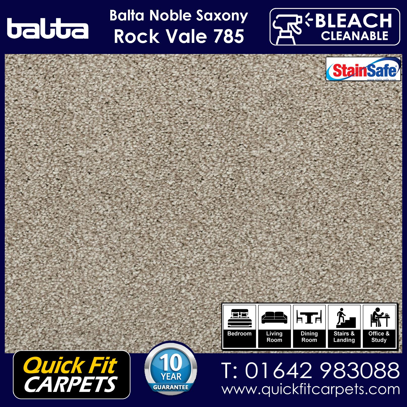 Quick Fit Carpets Balta Luxury Pile Rock Vale 785