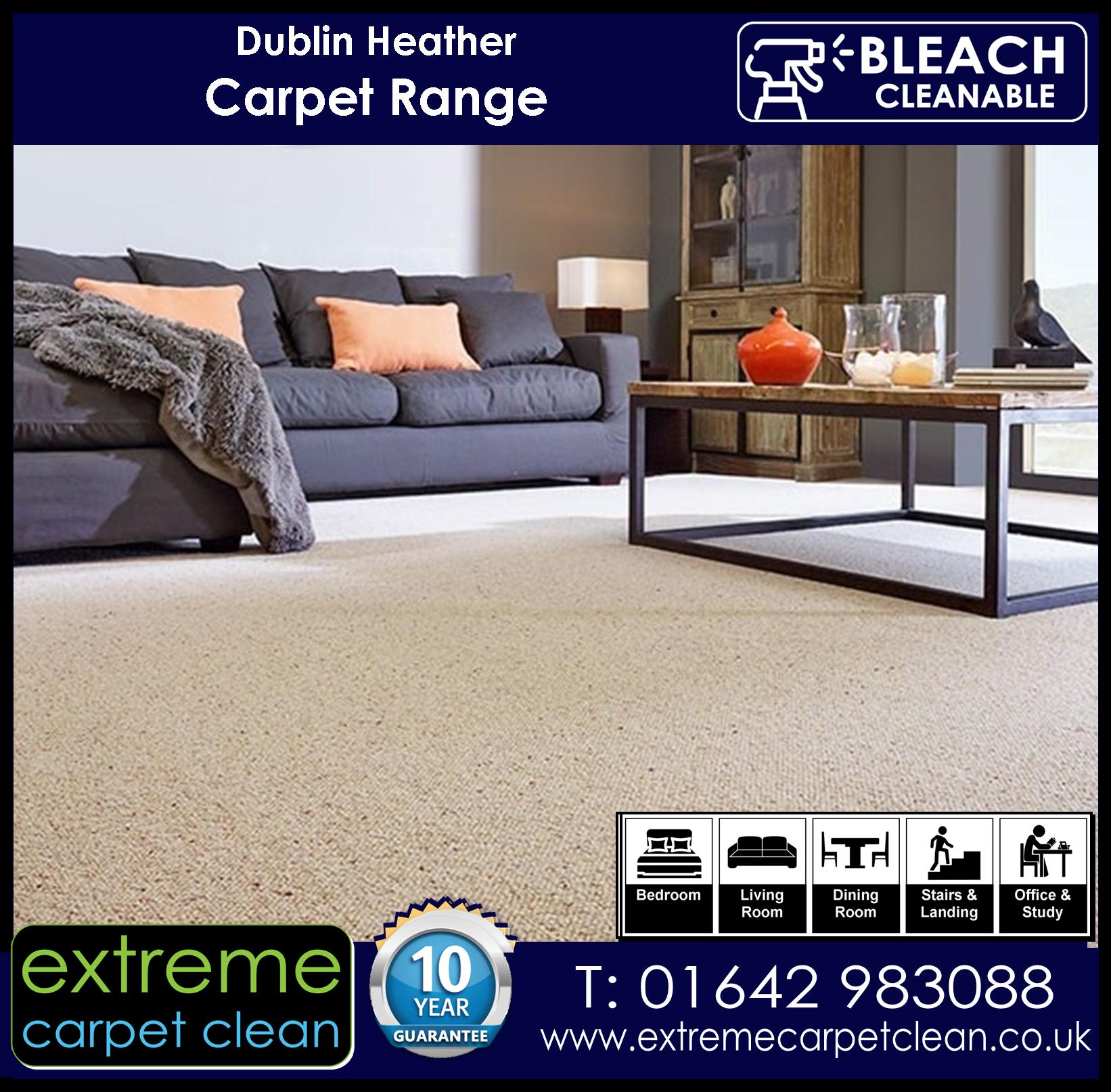 Extreme Carpet Clean, Dublin Heather Carpet Collection