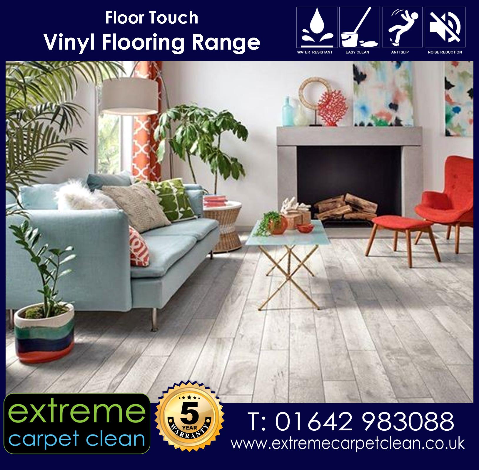 Extreme Carpet Clean -  Vinyl, cushion flooring range
