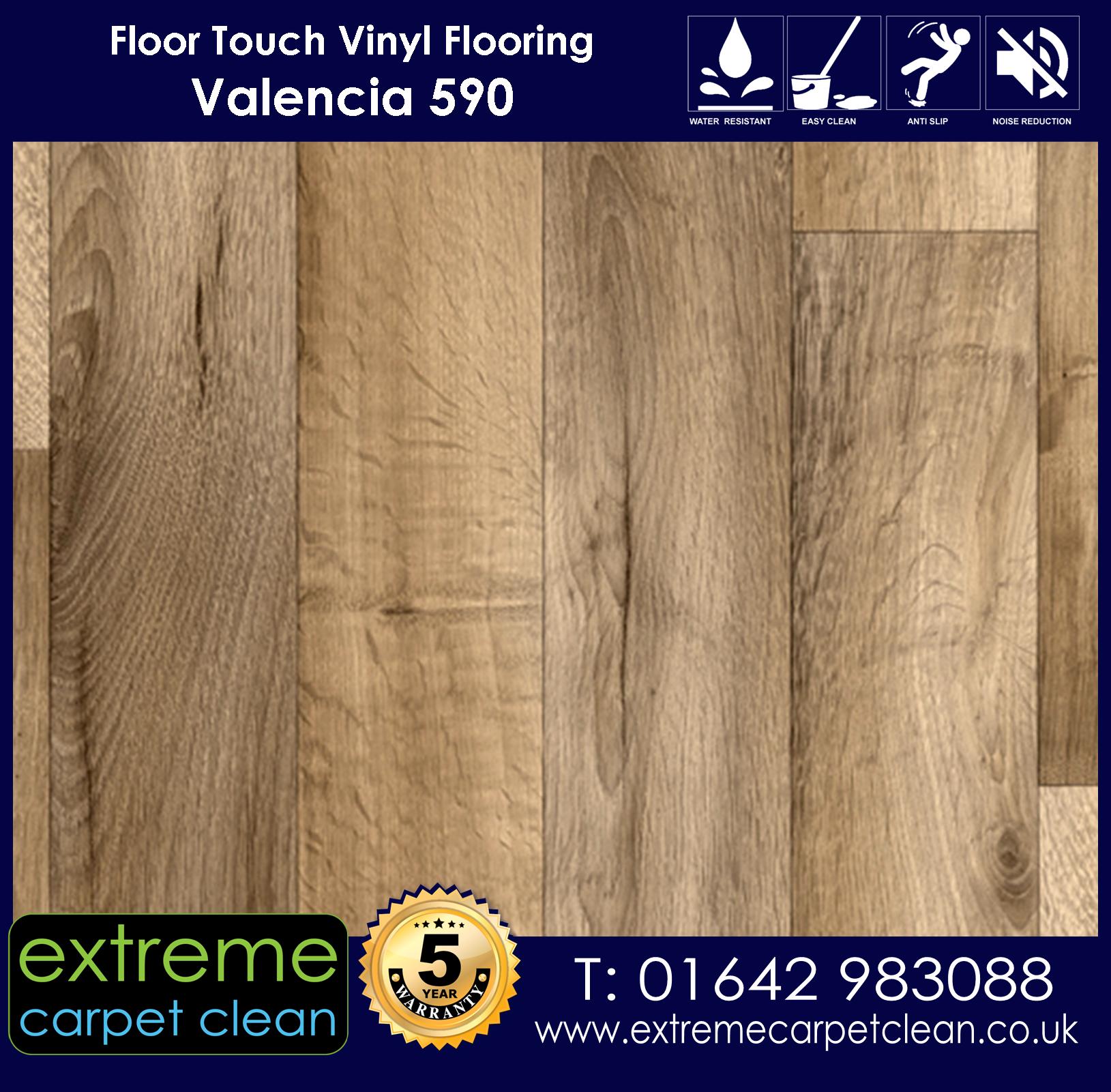 Extreme Carpet Clean Vinyl Flooring. Valencia 590