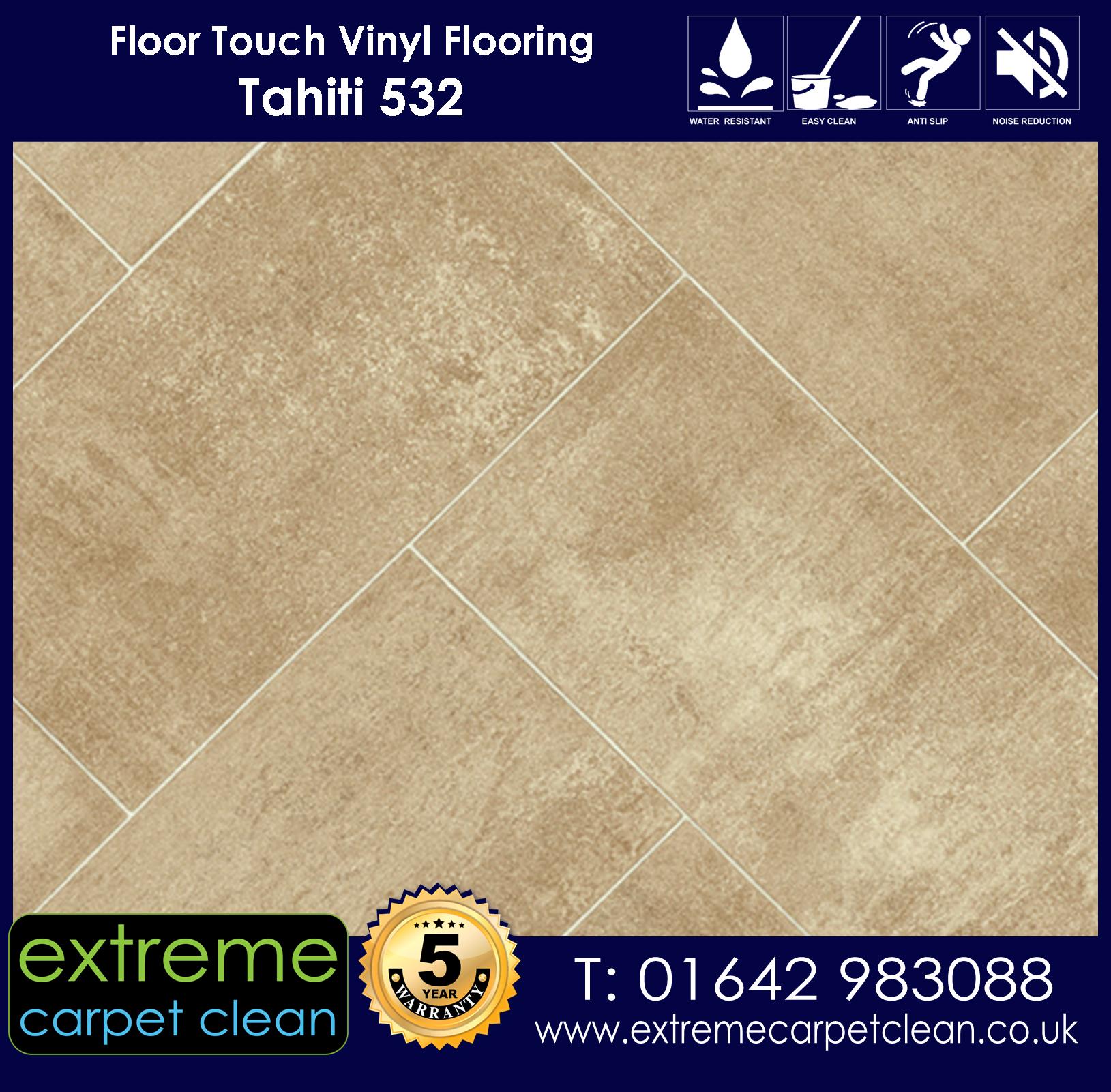 Extreme Carpet Clean. Vinyl Flooring. Tahiti 532