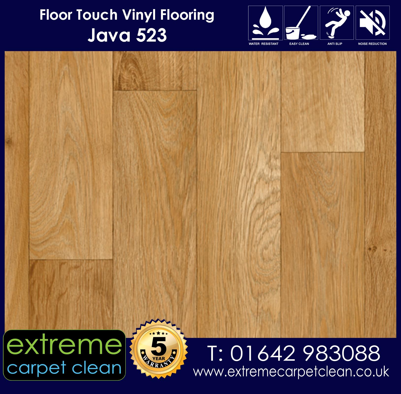 Extreme Carpet Clean. Vinyl Flooring. Java