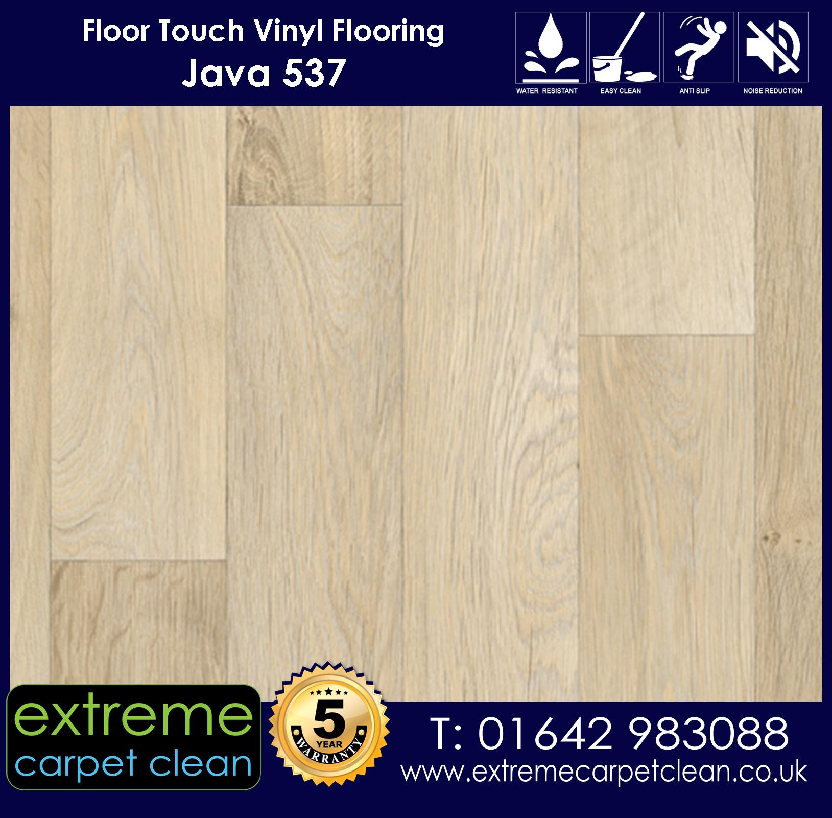 Extreme Carpet Clean. Vinyl Flooring. Java 537