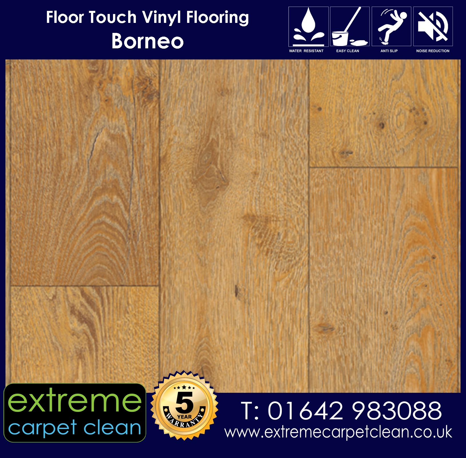 Extreme Carpet Clean. Vinyl Flooring. Borneo