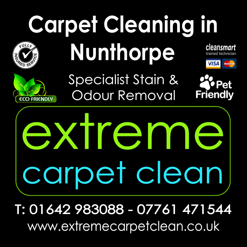 Manor Carpet cleaners in Nunthorpe, Middlesbrough