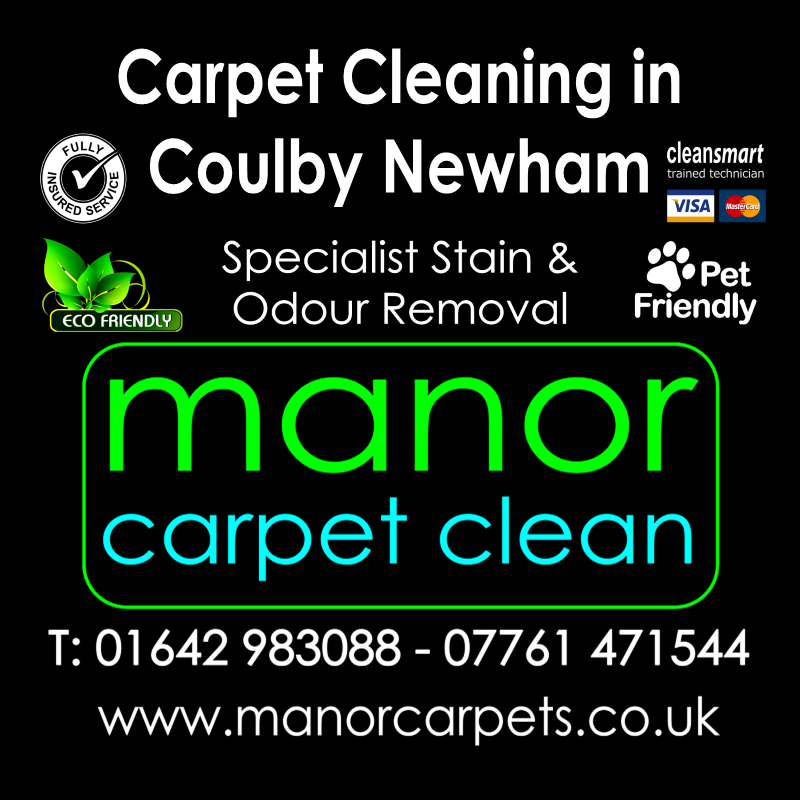 Manor Carpet cleaners in Coulby Newham, Middlesbrough