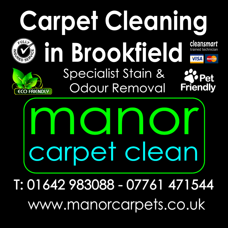 Manor Carpet Cleaning in Brookfield, Middlesbrough