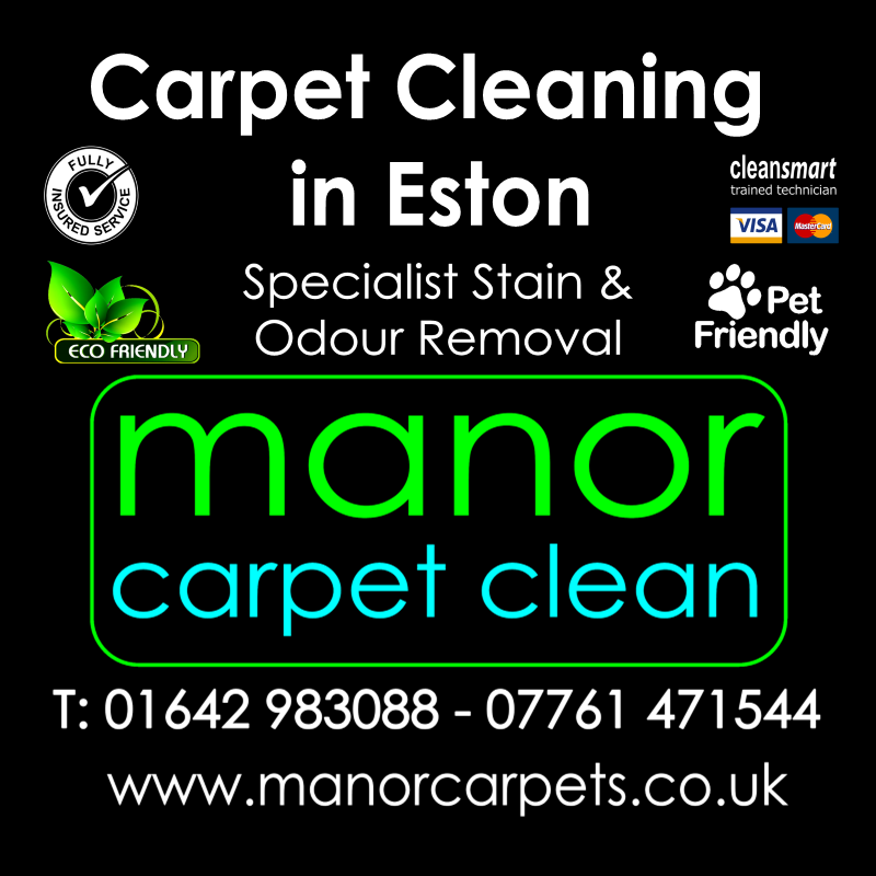Manor Carpet cleaners in Eston, Middlesbrough