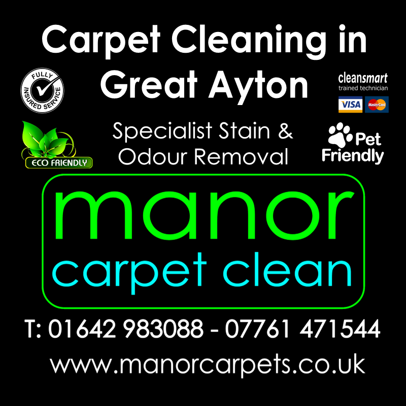 Manor Carpet Cleaning in Great Ayton, Middlesbrough