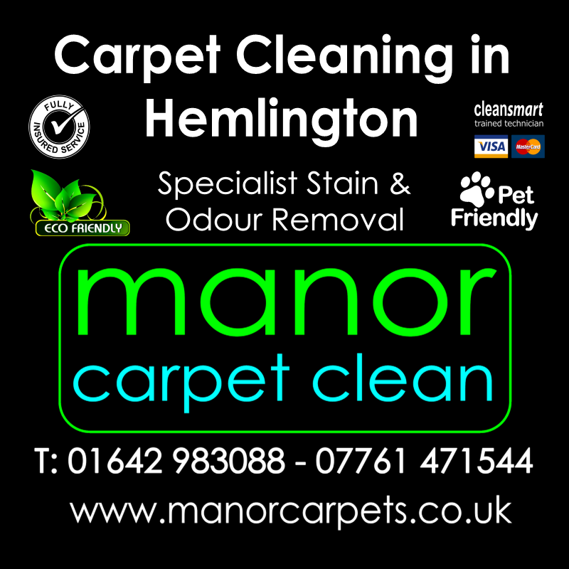 Manor Carpet cleaners in Hemlington, Middlesbrough