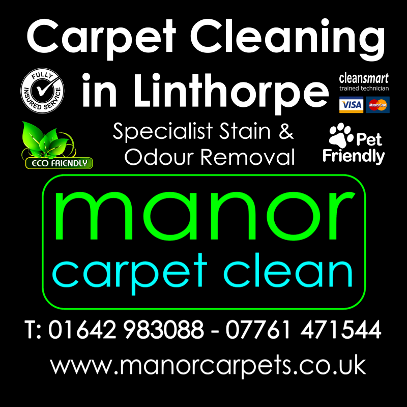 Manor Carpet cleaners in Linthorpe, Middlesbrough