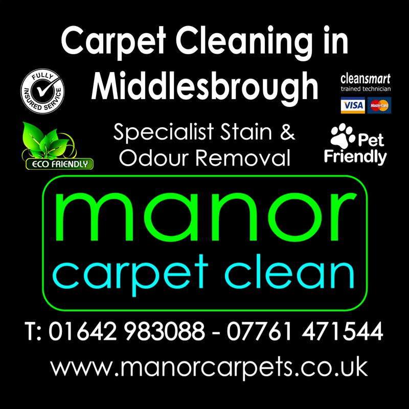 Manor Carpet Cleaning in Middlesbrough