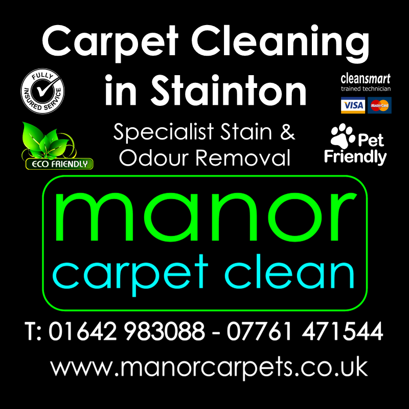 Manor Carpet Cleaning in Stainton, Middlesbrough