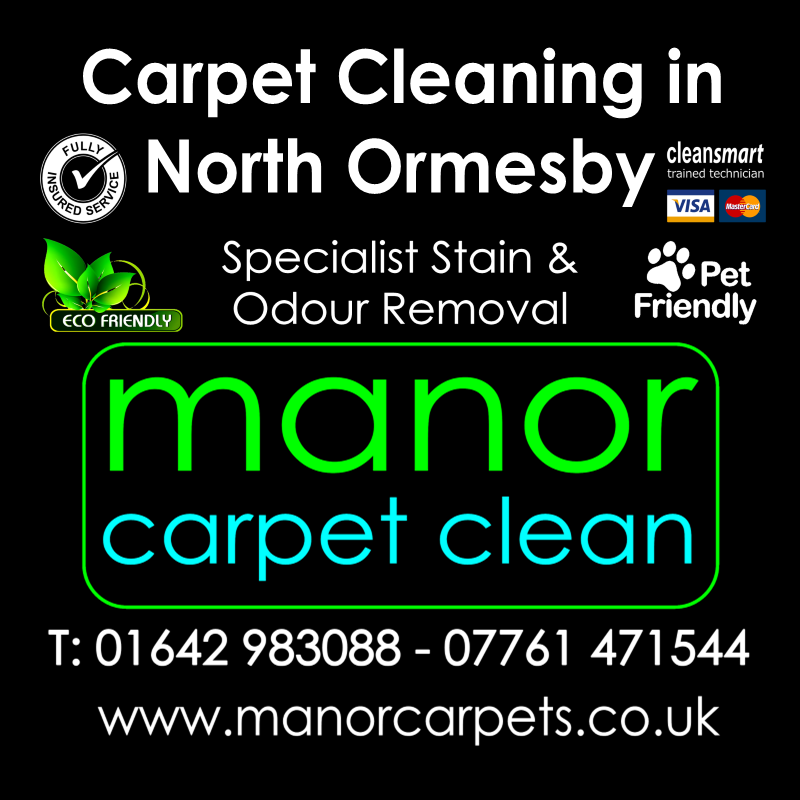 Manor Carpet Cleaning in North Ormesby, Middlesbrough