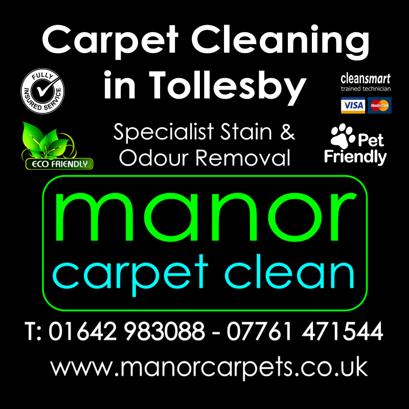 Manor Carpet Cleaning in Tollesby and Tollesby Hall, Middlesbrough