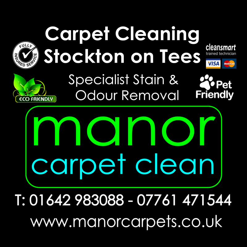 Manor Carpet cleaners in Stockton on Tees