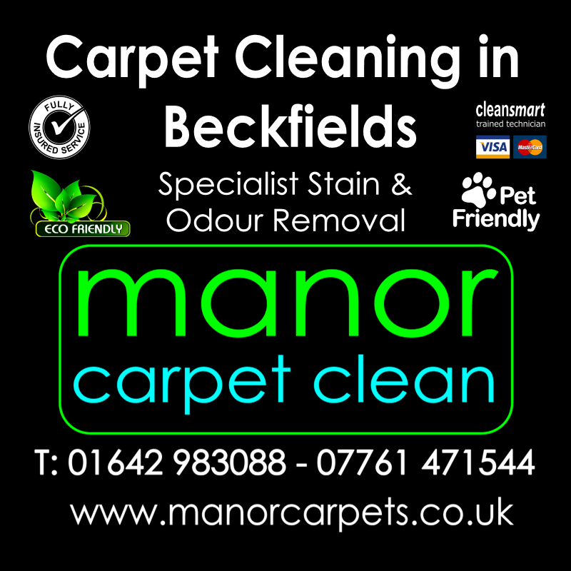 Manor Carpet Cleaning in Beckfields, Ingleby Barwick
