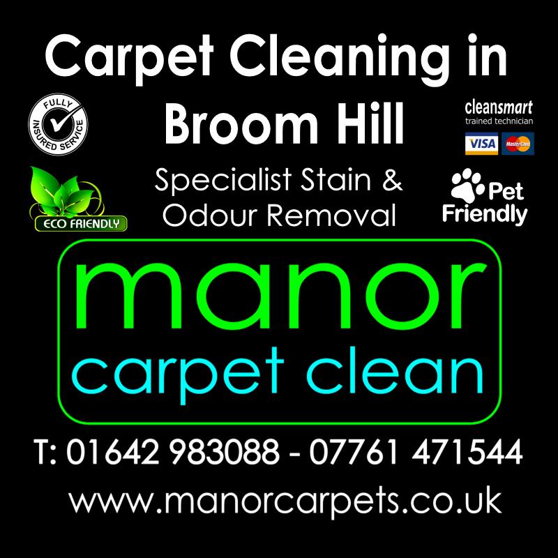 Manor Carpet Cleaning in Broom Hill, Ingleby Barwick